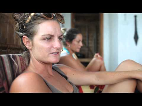 Rebecca Woods (ASP World Tour pro surfer) talks about her experience with The Perfect Wave