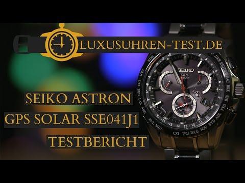 Seiko Astron GPS Solar SSE041J1 ► Testbericht ◄ Erfahre alles zur Seiko Astron!