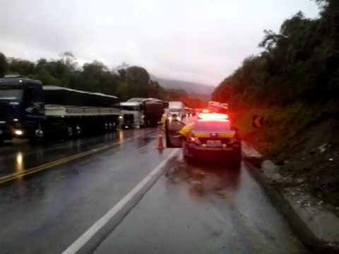 Fatal Grave acidente na BR 376 Próximo a Guamiranga