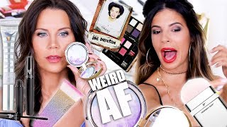 TESTING WEIRD AF PRODUCTS with Laura Lee by Glam Life Guru