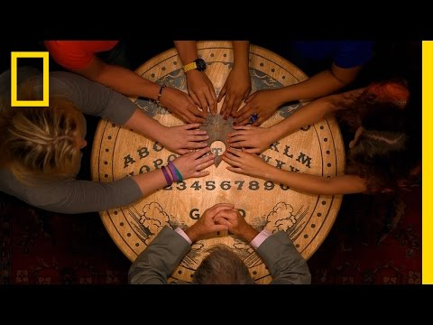 What happens when you blindfold ouija board believers
