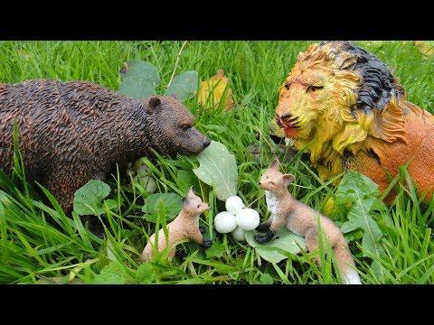 ЧТО ЖЕ ТЫ НАДЕЛАЛ ЛЕВ Необитаемый лес Мультфильмы про животных для детей - DomaVideo.Ru