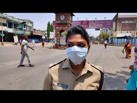 Daily Observation Bellary Streets. Traffic Police officers on Duty.