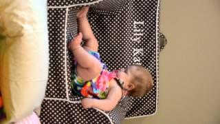She loves to dive off her Pottery Barn Anywhere Chair. :)
