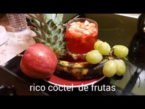 Cómo hacer un cóctel de frutas