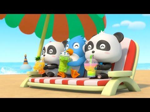 Bayi Panda Minum Juz Segar Dan Enak | Lagu Anak-anak | Juz Enak & Lezat | BabyBus Bahasa Indonesia