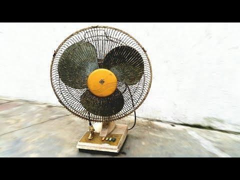 Restoration vintage table fan | Restore my father's old fan