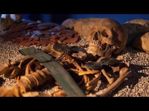 Archälogen finden Schätze in Salzbergwerk im österrei ...