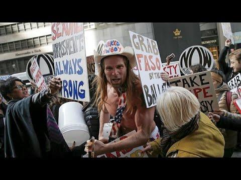 ΗΠΑ: Το κλίμα στη Νέα Υόρκη λίγο πριν ανοίξουν οι κάλπες – null
