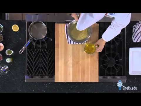 hollandaise - See Chef Edward Leonard, from Le Cordon Bleu, teach us how to make Hollandaise sauce. This sauce is simply made from egg yolks. Even though there is nothing ...