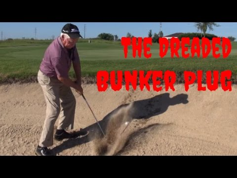 Gravity Golf Lesson – Plugged Bunker Lie