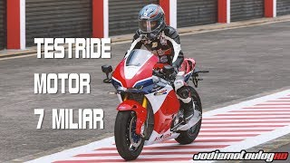Video Testride Motor GP | Honda RC213V-S MP3, 3GP, MP4, WEBM, AVI, FLV Agustus 2017