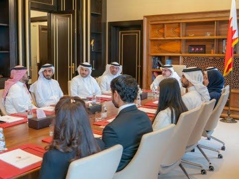 نائب جلالة الملك يلتقي بمنتسبي الدفعة الرابعة من برنامج النائب الأول لتنمية الكوادر الوطنية