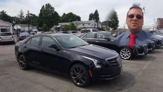 2017 Cadillac ATS Carbon Black Package See what Wayne's Cadillac customers are saying at http://www.wayneulery.com/cadillac#Daregreatly #Standardoftheworld #Cadillac Got Onstar?  Have a GM vehicle without it?  Get a trial for 90 days.  Learn more: https://wayneulery.com/OnstarTrialFor national sales contact Wayne Ulery at 330.333.0502See behind the scenes at:http://www.wayneulery.com/snapchatBook your test drive online at: http://www.wayneulery.com/setappointmentHot Cadillac Videos:2016 Cadillac Escalade Platinumhttps://www.youtube.com/watch?v=ADnwf4MAcTA2016 Cadillac CT6 Luxury Automatic Parking Demo included.https://www.youtube.com/watch?v=8kMCEEHcVlI2016 Cadillac ATS-Vhttps://www.youtube.com/watch?v=UosCRFbXHLUFind Wayne Ulery at Columbiana Cadillac Buick Chevrolet.  Your local Youngstown, Austintown, Boardman, Canfield, Poland, Sharon, Pittsburgh, Akron, Cleveland Cadillac dealership.