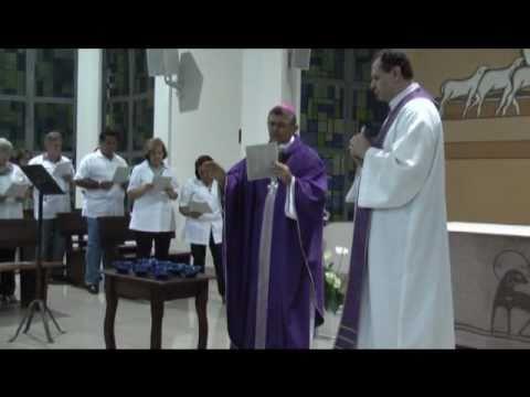 Missa de Quarta-Feira de Cinzas Catedral Nossa Senhora Aparecida e Homilia Dom Sergio Krzywy