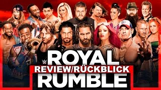 Nonton Wwe Royal Rumble 2017   Ppv Review R  Ckblick   Entt  Uscht   Deutsch German  Film Subtitle Indonesia Streaming Movie Download