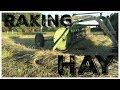 Raking and Drying Hay