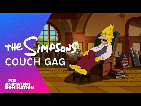 4 - The Simpsons spoof The Hobbit in the latest couch gag from the