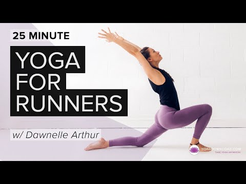 Runners - Be sure to check out our website for a longer version of this class, as well as a wide variety of other selections! http://www.yogadownload.com/yoga-classes/...