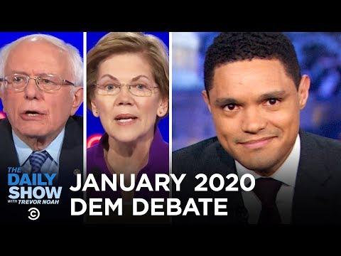 January 2020 Democratic Debate in Iowa | The Daily Show