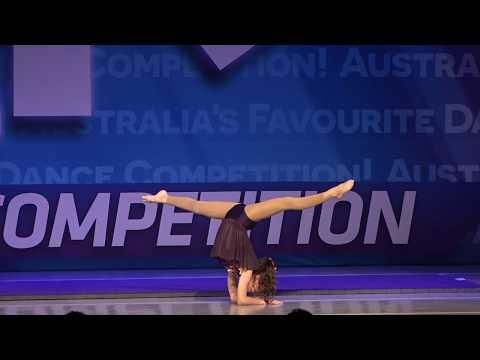 11 Year Acro Gymnastics Solos, How Far I'll Go