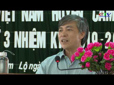 Hội nghị UBMTTQVN huyện Cam Lộ lần thứ 3