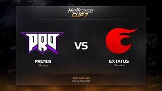 pro100 vs eXtatus, HellCase Cup Season 7