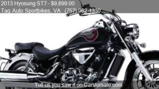 9. 2013 Hyosung ST7  for sale in Virginia Beach, VA 23464 at th