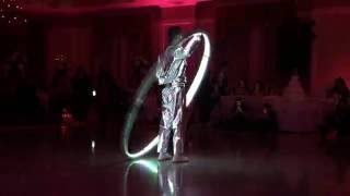 Phoenix Entertainment NYC - LED Cyr Wheel @ Villa Barone