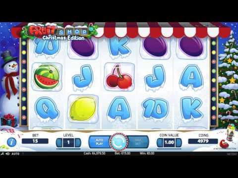 Fruit Shop NetEnt Slot  - Christmas Edition