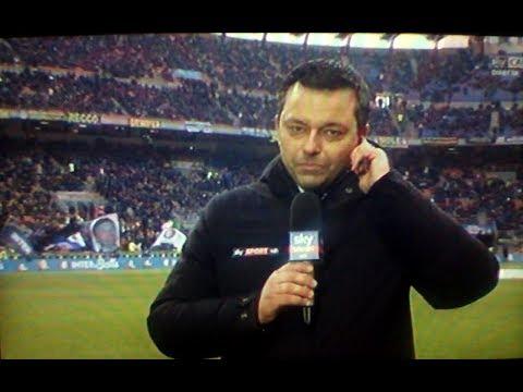 Inter Udinese 1 3 - Il boato dei tifosi cantando Inter Bells