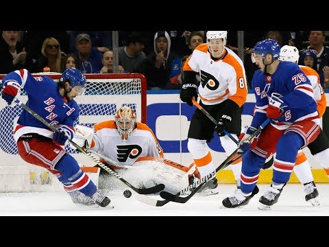Video: Philadelphia Flyers and New York Rangers combine for 11 goals
