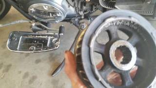 10. V Star 950 drive pulley problem