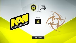 Na`Vi vs. NiP - ESL One: Cologne 2019 - map2 - de_mirage [MintGod & сeh9]