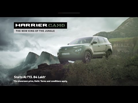Harrier CAMO   #TheNewKingOfTheJungle