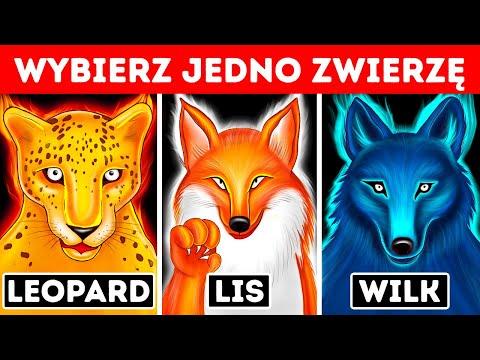 Wybierz jedno zwierzę i odkryj swój ukryty talent   Test osobowości