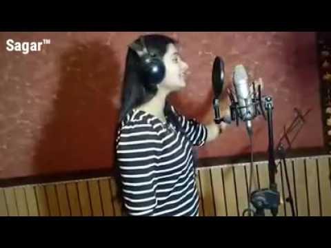 Video Aarya Nandini Singing In Studio ...Bolbum Recording _2016 download in MP3, 3GP, MP4, WEBM, AVI, FLV January 2017