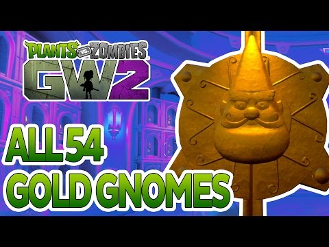 Plants Vs Zombies Garden Warfare 2: All 54 Golden Gnome Locations