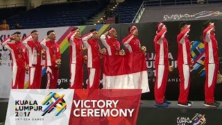 Video Badminton 🏸 Mens Team finals Victory Ceremony | 29th SEA Games 2017 MP3, 3GP, MP4, WEBM, AVI, FLV Agustus 2018