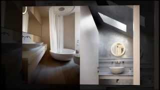 Белый дизайн интерьера итальянского дома