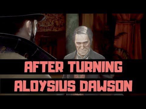 VAMPYR - What Happens If You Turn Aloysius Dawson - FULL DIALOGUE - First Meeting