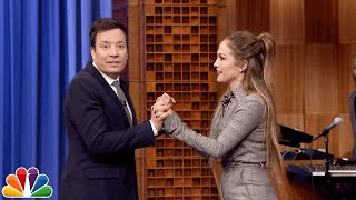 Dance Battle with Jennifer Lopez
