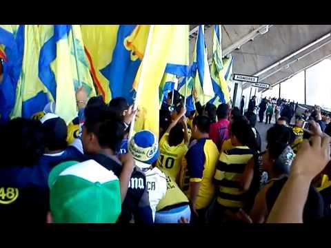 """America vs chivas 2011  """"YA LLEGO LA BANDA QUE LOCA QUE ESTA"""" - Ritual Del Kaoz - América"""