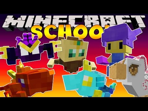 school - Minecraft School - Elemental Witches Mod Minecraft School Playlist : http://bit.ly/MinecraftSchool {Subscribe : http://bit.ly/LittleLizardGaming } We're back in school with TinyTurtle as...