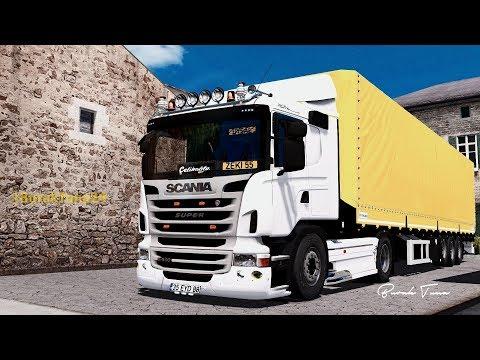 Scania G420 + Trailer v4.0