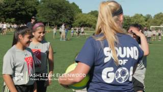 Chicago Soccer Clinic w Monica Gonzales and Chicago Red Stars