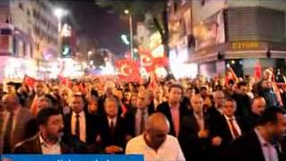 CHP Zeytinburnu Cumhuriyetin 90 Yılında Binlerle Yürüdü