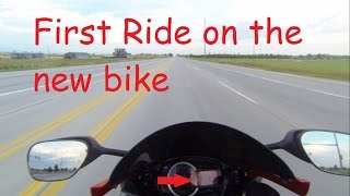 3. First Ride | 2014 Suzuki GSX-R 750 | DapperxDan Motovlog