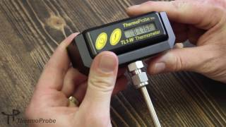 ThermoProbe TL1-W Battery Replacement