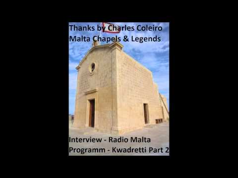Interview(Maltse)Pt1 - Thanks for Charles Coleiro - Program Kwadretti on Maltese Radio Station (Radju Malta). My Friend Roderick Busuttil had the 2nd interview and ask for stories ...